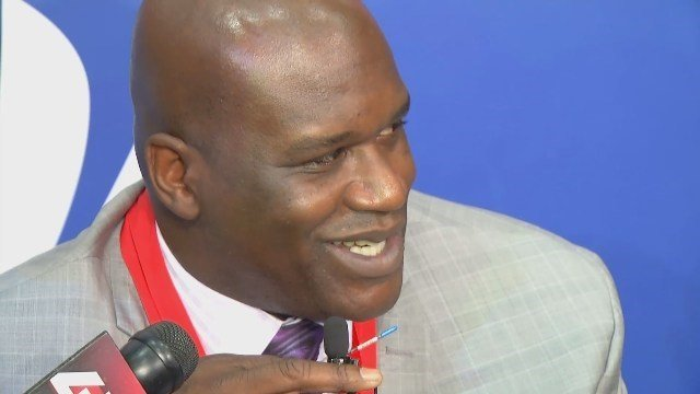 Shaquille O'Neal and his old LSU coach Dale Brown are headed into the College Basketball Hall of Fame, along with Grant Hill and four other luminaries that represent this year's induction class.