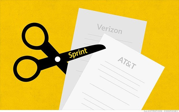 Sprint badly wants more customers. So badly that it's offering to cut Verizon and AT&T subscribers' bills in half if they switch over. (CNN)