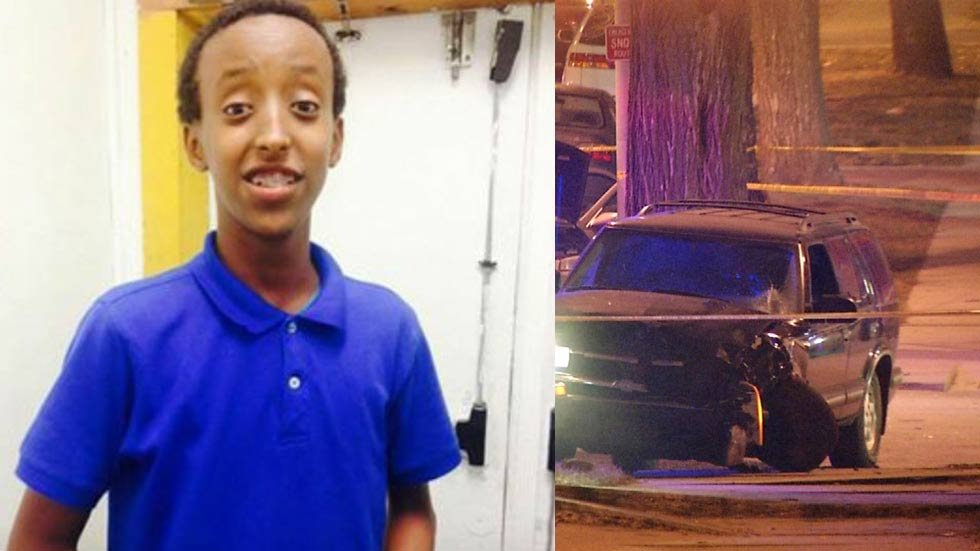 A funeral was held for 15-year-old Abdisamad (Abdi) Sheik Hussein at the Islamic Society of Greater Kansas City.