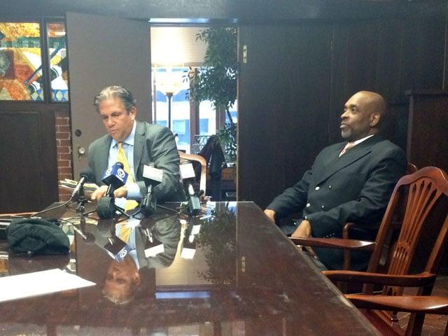 The councilman told KCTV5's Eric Chaloux his resignation is effective Jan. 2, 2015. (Eric Chalous/KCTV5 News)
