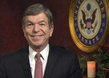 Missouri U.S. Sen. Roy Blunt wants the courts and legislature to determine whether Gov. Eric Grietens should leave office, so he isn't calling for Greitens' resignation. (file photo)