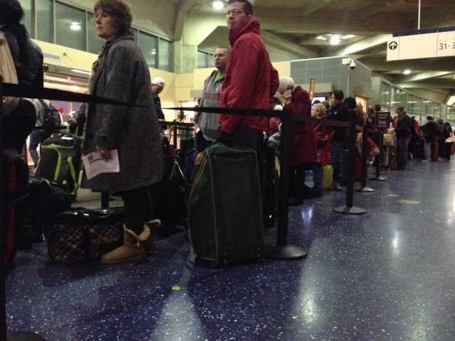 Kansas City International Airport expects to see nearly 500,000 travelers. (KCTV5)