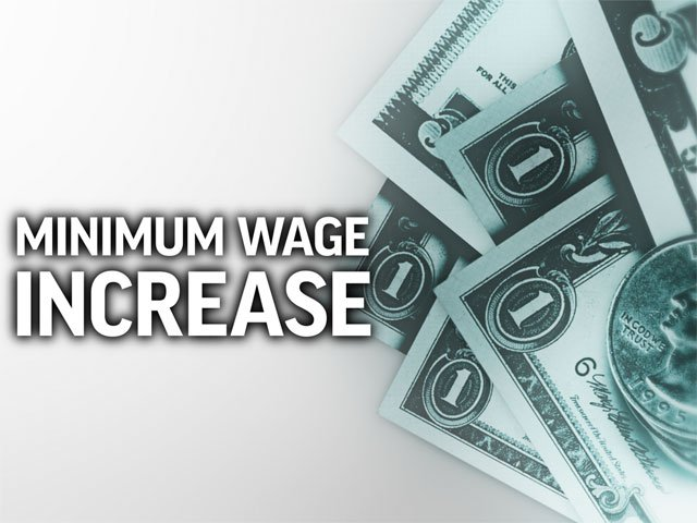 Starting New Year's Day, the state's minimum wage will increase by 15 cents to $7.65 an hour. Theminimum wage for tipped workers in Missouri will rise by 9 cents to $3.83 per hour.