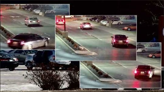 Police released these surveillance images showing moments after a carjacking at Oak Park Mall.