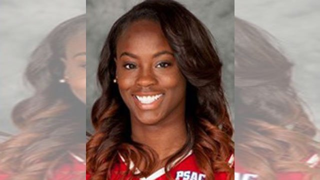The Washington County coroner's office said 21-year-old Shanice Clark of Toronto was found unresponsive at about 3 a.m. Sunday at California University of Pennsylvania. (Photo Courtesy: Cal U Athletics)