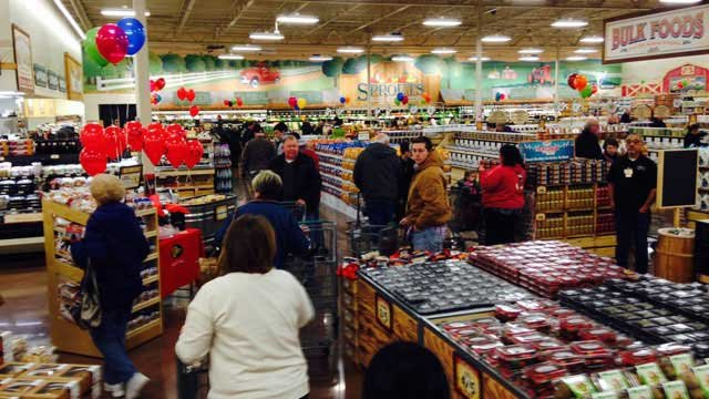 Sprouts Farmers Market opened Wednesday near Liberty and will have a big impact on the area.