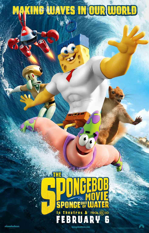 Spongebob movie poster 2004