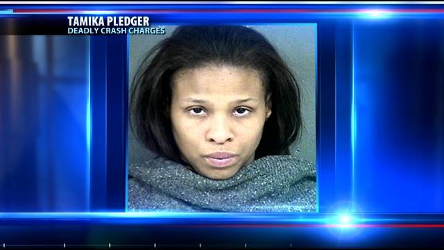 Tamika Pledger will face a judge for the first time Tuesday morning after she allegedly ran into four teens, killing one of them and seriously injuring three.