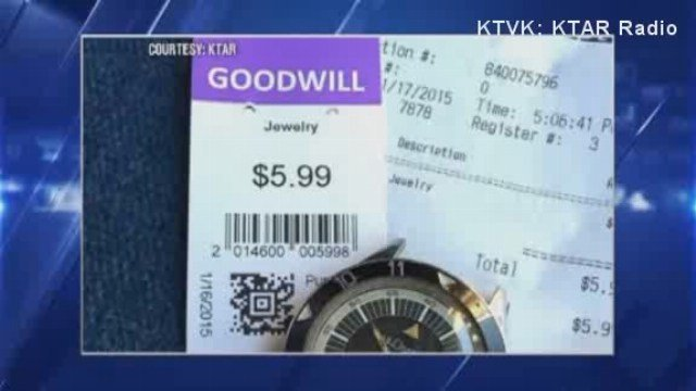 A Phoenix man found quite the thrift store treasure at a Goodwill. He bought a watch for $5.99 then turned around and sold it for $35,000.
