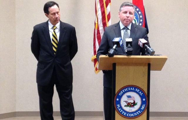 Platte County Prosecutor Eric Zahnd told KCTV5 News his decision during a news conference Thursday. (Brett Hacker/KCTV5 News)