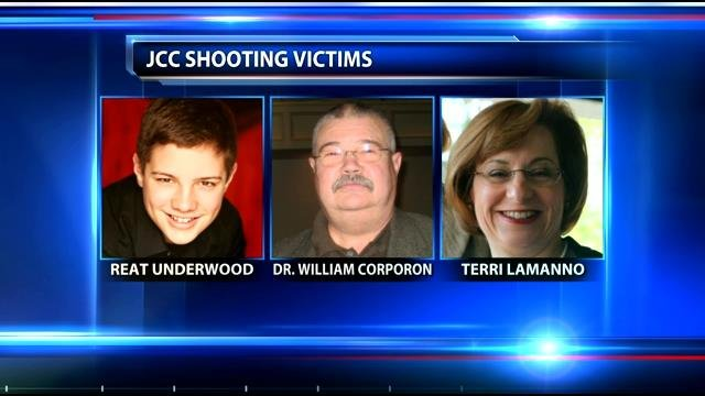 Cross is accused of killing Dr. William Lewis Corporon, 69, and his 14-year-old grandson, Reat Griffin Underwood. He also is accused of fatally shooting 53-year-old Terri LaManno.