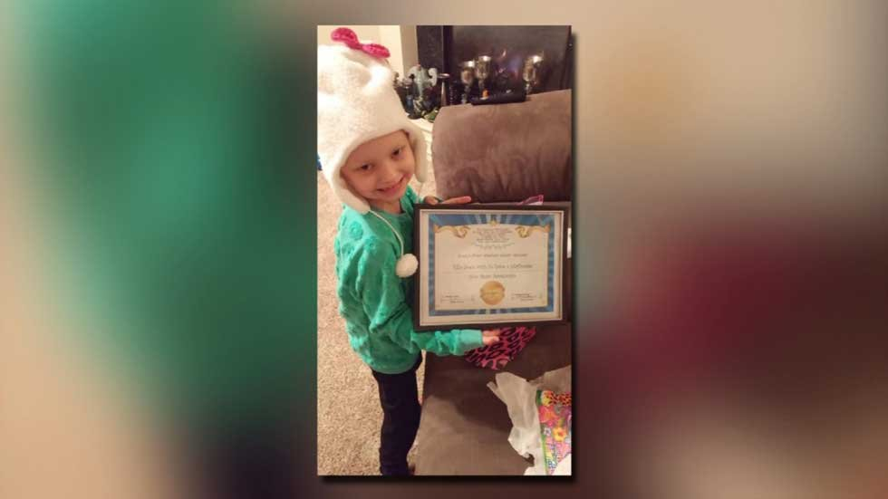 Ella Schultz is just 6 years old and she's already battled a lot in her life. Cancer has wracked her body and she's back at University of Kansas Hospital Tuesday night due to a fever and infection.