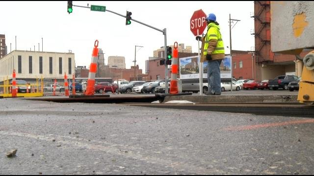 Drivers are asked to keep in mind that construction season is about to begin, causing more workers to be on area roads. (KCTV5)