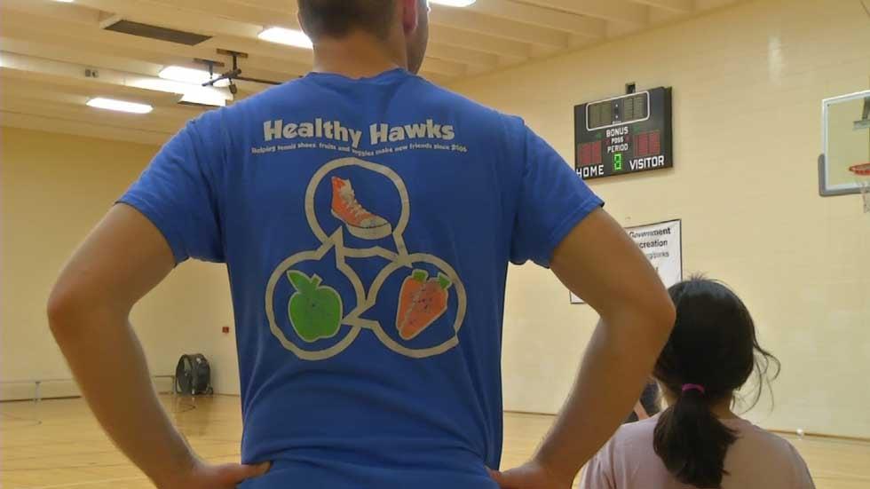 healthy hawks program motivates children parents to get