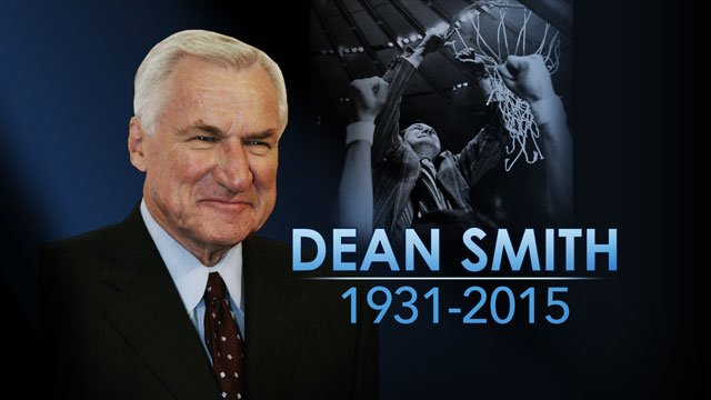 Dean Smith is still giving to his North Carolina players — even after his death.