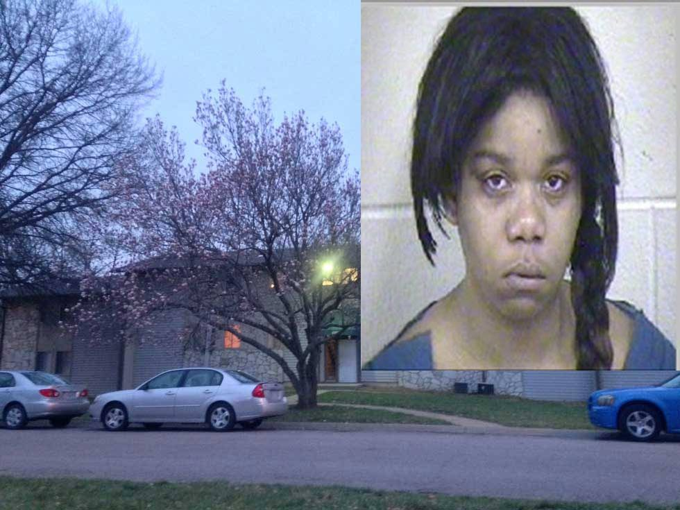 Donniesha Lasha Lee faces charges of child abuse and first-degree domestic assault.