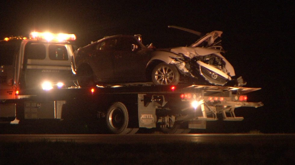 Independence police and emergency crews swarmed the deadly hit-and-run crash at U.S. Highway 24 and Blue Mills Road about 9:15 p.m. Friday.