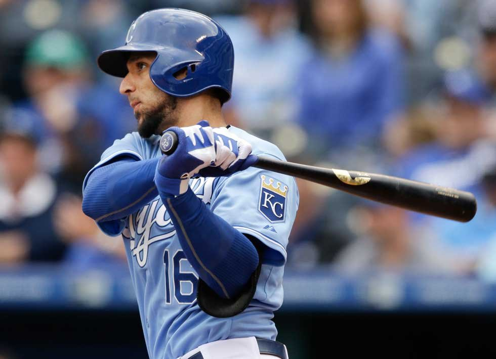 Royals recall outfielder Paulo Orlando from Triple-A Omaha. (AP, File)