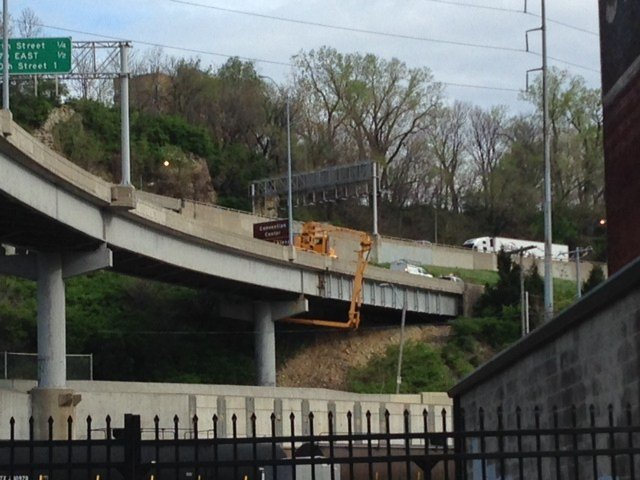 Motorists are asked to use alternate routes until further notice. Repairs could take a minimum of two to three weeks or longer. (Erika Tallan/KCTV)