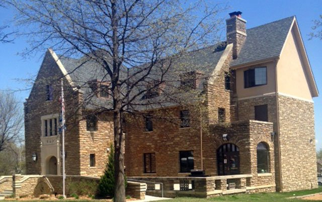 Phi Delta Theta International said early Thursday it suspended the Washburn chapter as it investigates the messages. (Jonathan Carter/KCTV5 News)