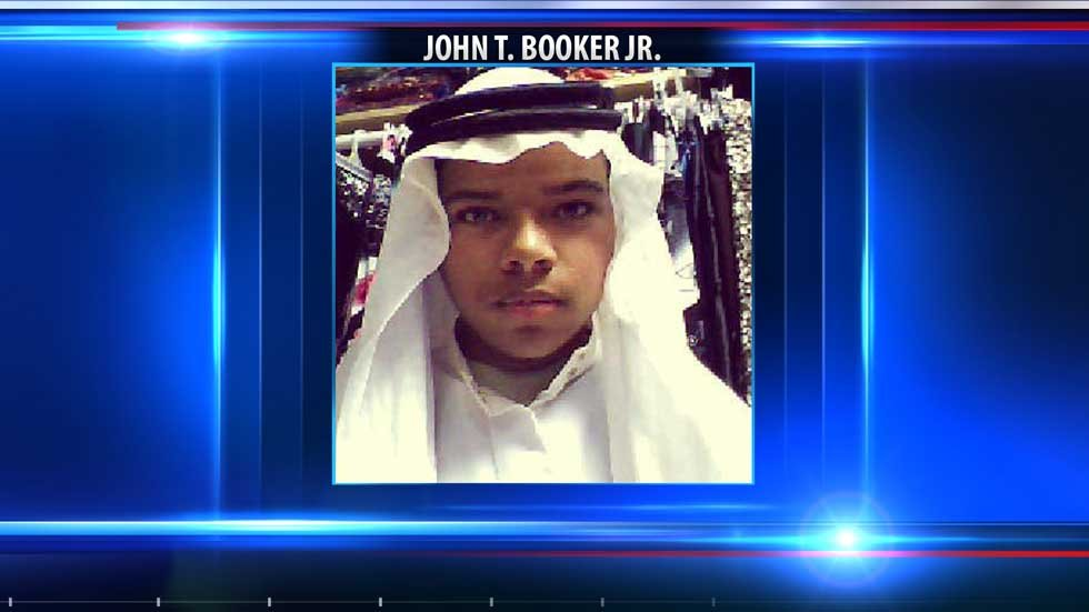 John T. Booker Jr.'s hearing Tuesday in federal court in Kansas City, KS, comes after a grand jury handed down a three-count indictment for the 20-year-old last week.
