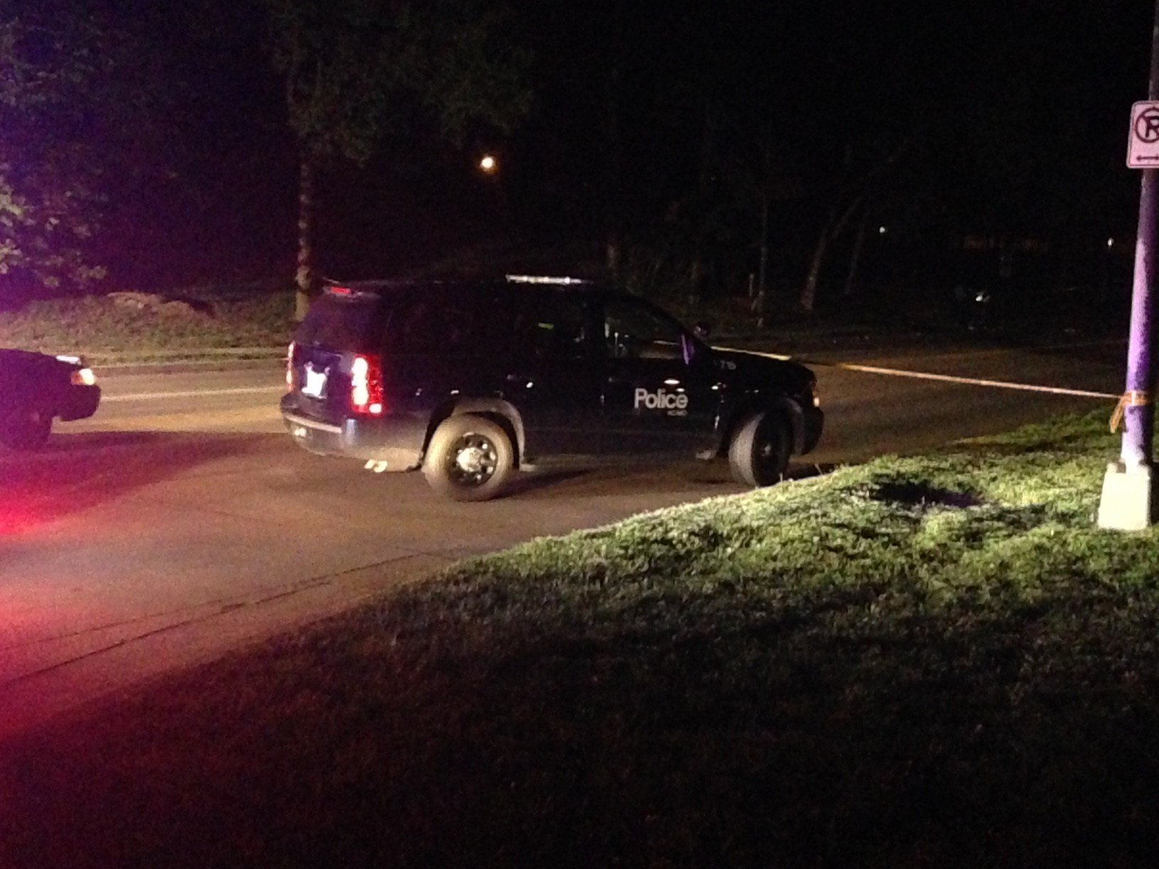 The accident happened about 3:15 a.m. Wednesday on Emanuel Cleaver II Boulevard near U.S. Highway 71.