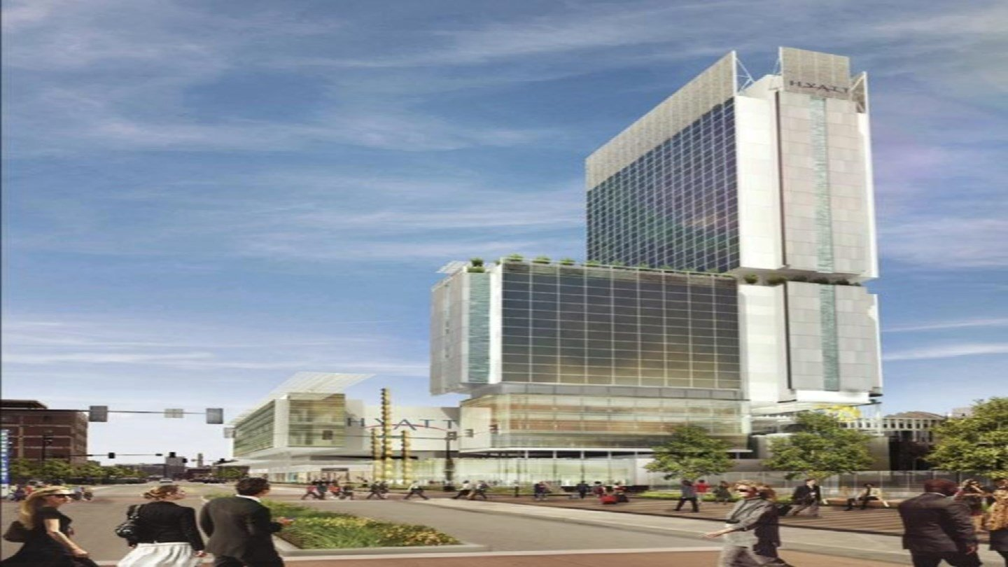 Kansas City leaders and development officials plan to build a $300 million, 800-room downtown hotel to address a lodging shortfall that has caused numerous conventions to look elsewhere.