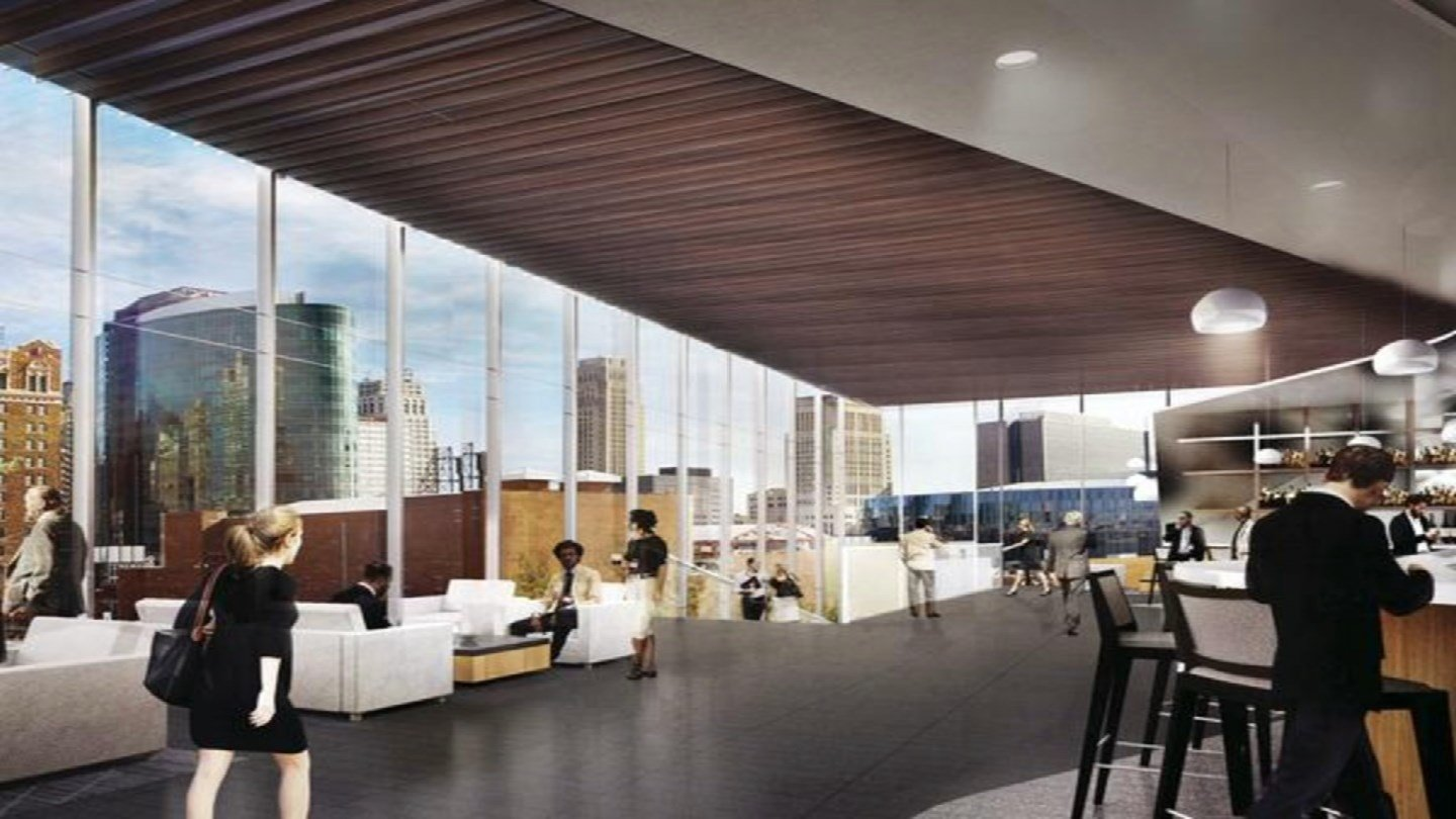 Plans Which Will Be Formally Unveiled Monday Call For A Hyatt To Open In