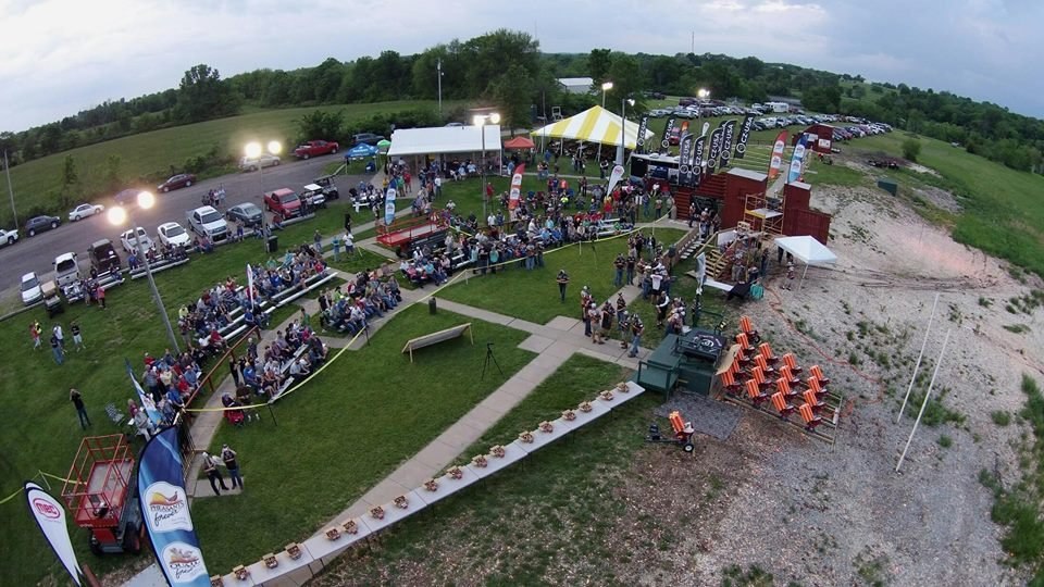 Several hundred people turned out at a Harrisonville range to cheer on the 41-year-old project manager and pro shooter for CZ -USA guns. (Dave Miller/Facebook)