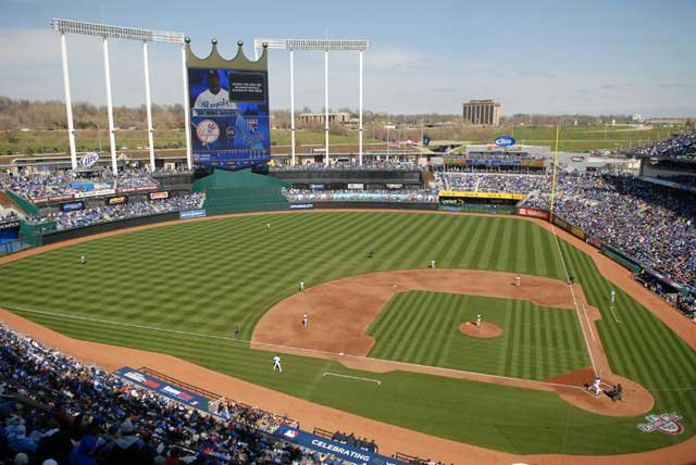 Baseball fans rejoice! It is Opening Day at Kauffman Stadium  Friday marks a fresh start for everyone - the players and the fans.