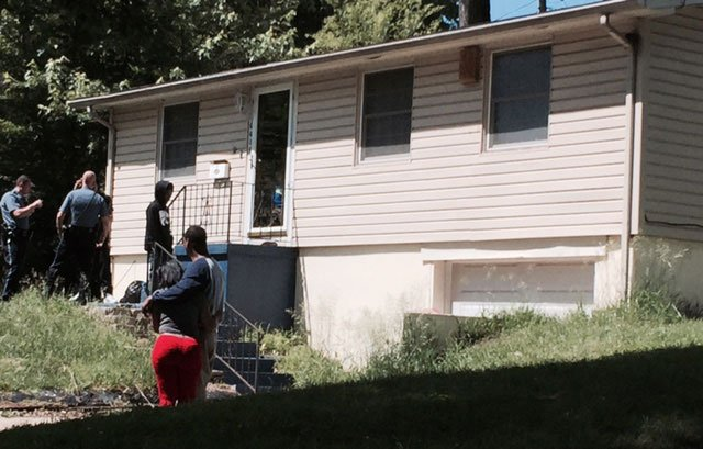 Officers said shots were fired outside the house and bullets entered the home, striking the toddler. The identity of the child killed has not yet been released.