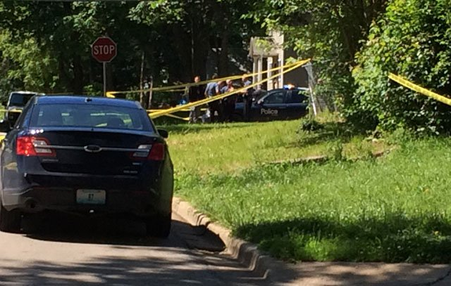 Police were called about 10:15 a.m. Sunday to the 6700 block of Walrond Avenue.