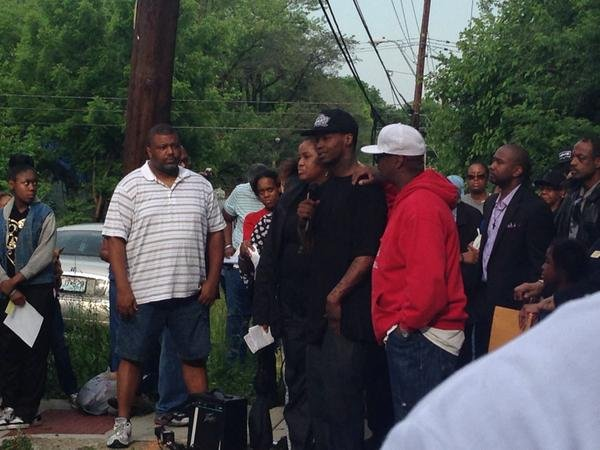 "KCTV5's @ErikaTallan: ""Amorian's father pleads people to say something if they know something. @KCTV5 #justice4amorian"""