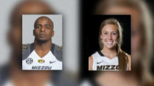 The Missouri State Highway Patrol says Harold Brantley, a defensive lineman, was seriously injured in the Sunday afternoon crash on U.S. 63. The patrol report says Madeleine Stock, a women's basketball player, sustained minor injuries.