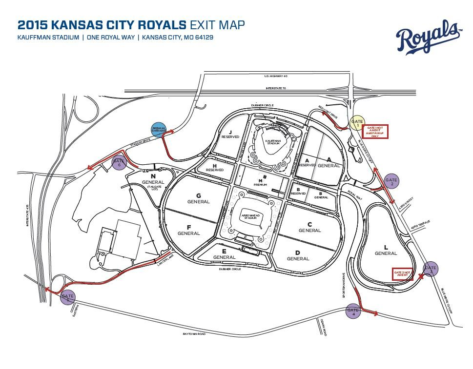 The Kansas City Royals say they have a new plan for fans as they exit the Truman Sports Complex following home games allowing them to exit quicker and help improve vehicle safety.