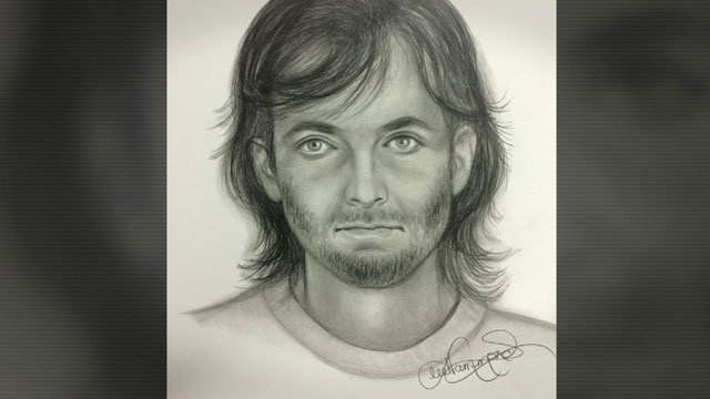 Police sketch of shooting suspect.
