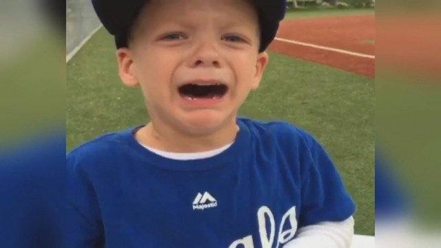 Kellan Latendresse is a huge fan of the Kansas City Royals ironman. He was in a puddle of tears after Gordon suffered his injury.