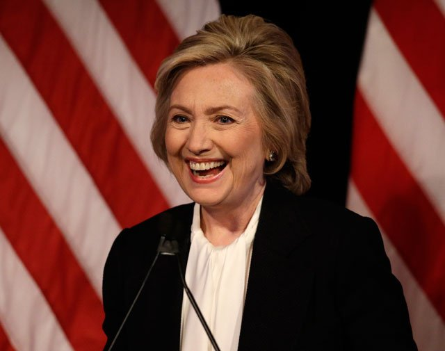 Hillary Clinton has widened her lead over Donald Trump in a pair of new national polls published on Thursday. (AP)