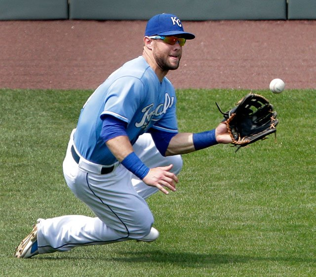 The Kansas City Royals have placed outfielder Alex Gordon on the 10-day disabled list with a left hip labral tear. (AP)