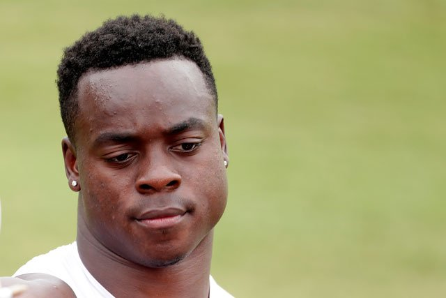 Kansas City Chiefs wide receiver Jeremy Maclin (19) watches a drill during NFL football training camp Wednesday, Aug. 5, 2015, in St. Joseph, Mo. (FILE - AP Photo/Charlie Riedel)
