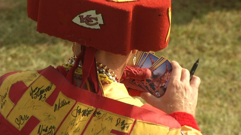Chiefs superfan anticipates Super Bowl season