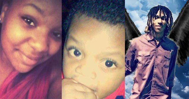 Loved ones say Bianca Fletcher, 17, and her 1-year-old son, Joseph were two of the victims. The third victim was Shannon Rollins Jr., family members say.
