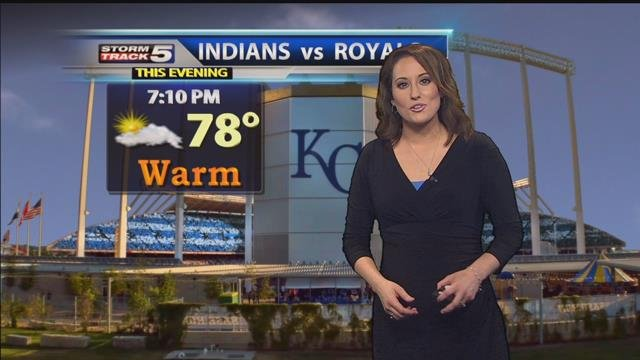 Lisa teachman has your stormtrack 5 forecast kctv5