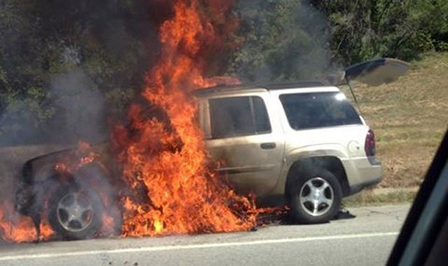 Driver Seeks Stranger Who Saved Him From Burning Suv News
