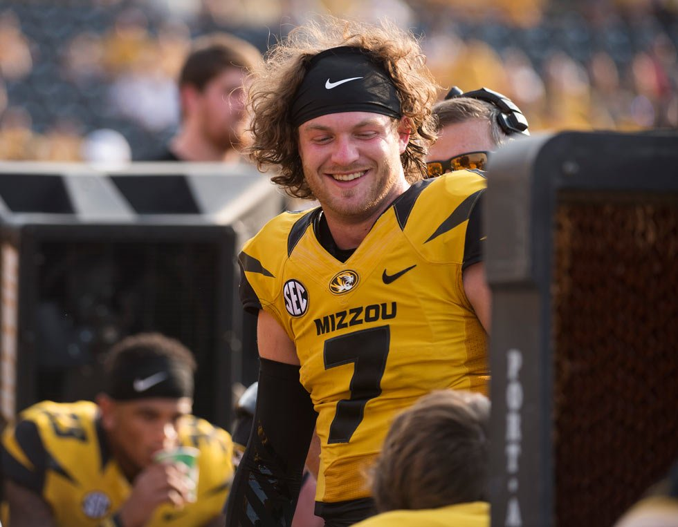 Missouri suspended junior quarterback Maty Mauk for the rest of the season for disciplinary reasons, just six days after reinstating him. (AP, File)