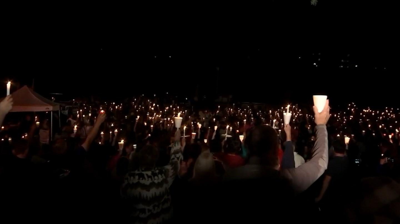 Vigil for Oregon community college victims