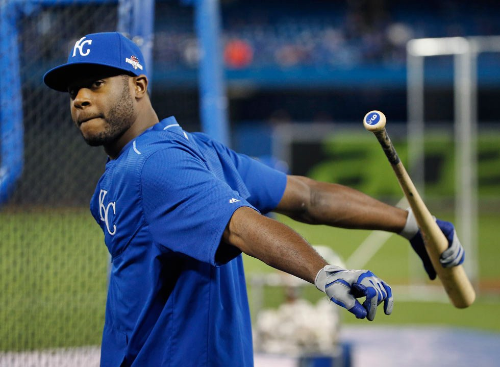 After seven years with the Kansas City Royals, outfielder Lorenzo Cain is moving on. (AP)