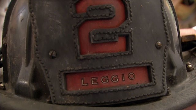 "Later in his firefighting career, Larry Leggio was promoted to fire apparatus operator and moved to truck No. 2, ""the Deuce,"" in Midtown."