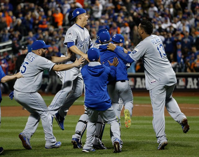 ROYALS WIN! The Royals win the World Series Championship, capturing the crown for the first time in 30-years.