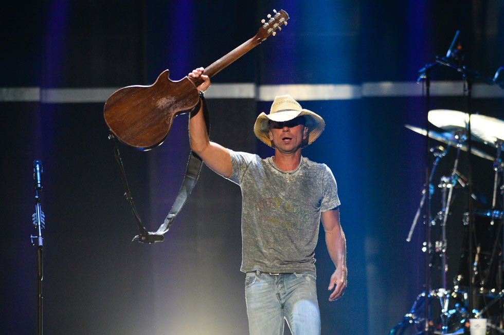 The concert is set to kick off at 5 p.m. with Thomas Rhett, Old Dominion and Brandon Lay performing before Chesney takes the stage. (Photo by Al Powers/Powers Imagery/Invision/AP)